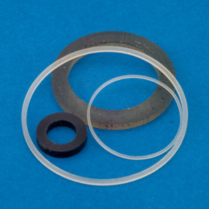 2 idler tires, 2 capstan rings, 2 belts for Sony WM-D6C