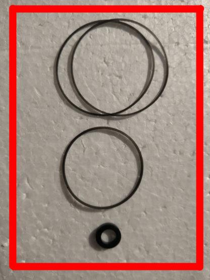 3 Belts and 1 idler tire for Sony Walkman WM 3